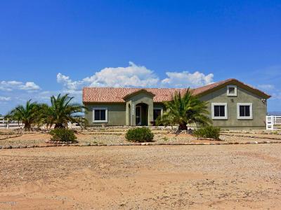 Wittmann Single Family Home For Sale: 25842 W Radford Road