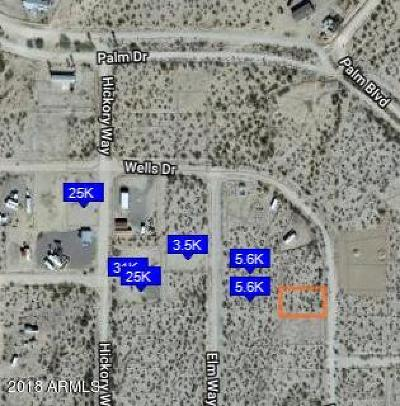 Salome Residential Lots & Land For Sale: 39756 Whistlers Way