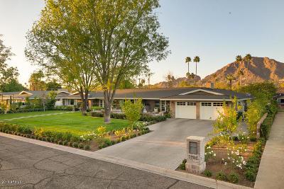 Phoenix Single Family Home For Sale: 5702 E Calle Camelia