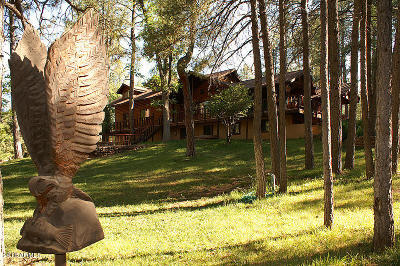 Payson, Pine, Pinedale, Pinetop, Lakeside, Show Low, Strawberry, Flagstaff, Munds Park, Prescott, Prescott Valley, Happy Jack, Sedona Single Family Home For Sale: 158 S Thirteen Ranch Road