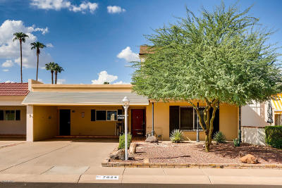 Scottsdale Condo/Townhouse For Sale: 7624 E Bonita Drive
