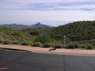 Fountain Hills Residential Lots & Land For Sale: 9631 N Four Peaks Way