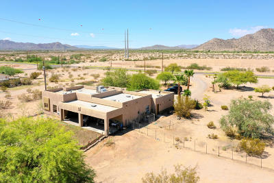 Maricopa Single Family Home For Sale: 8599 N Warren Road
