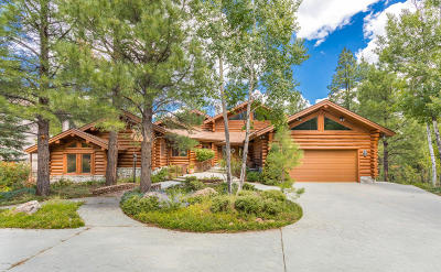 Payson, Pine, Pinedale, Pinetop, Lakeside, Show Low, Strawberry, Flagstaff, Munds Park, Prescott, Prescott Valley, Happy Jack, Sedona Single Family Home For Sale: 4730 Griffiths Spring