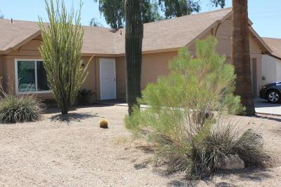 Phoenix Single Family Home For Sale: 3427 W Mohawk Lane