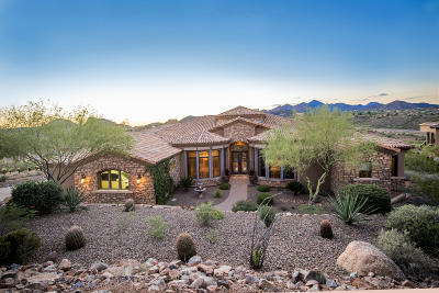 Fountain Hills Single Family Home For Sale: 9928 N Canyon View Lane