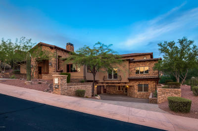 Fountain Hills Single Family Home For Sale: 9647 N Fireridge Trail