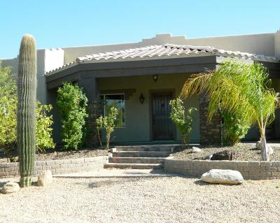 Cave Creek Single Family Home For Sale: 6011 E Rancho Del Oro Drive