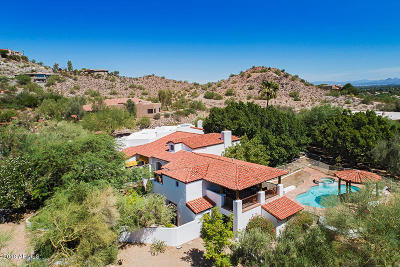 Paradise Valley Single Family Home For Sale: 4724 E Mohave Place