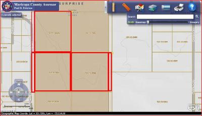 Surprise Residential Lots & Land For Sale: N 235th Avenue