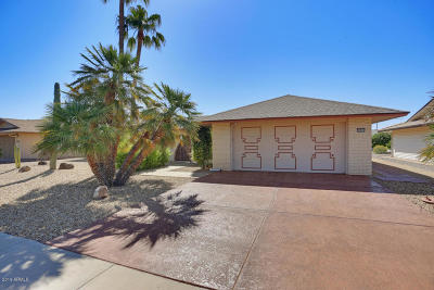 Sun City West Single Family Home For Sale: 12603 W Keystone Drive