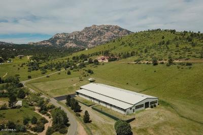 Yavapai County Single Family Home For Sale: 2615 W Pemberton Drive