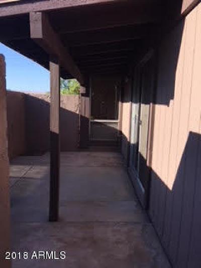 Tempe  Condo/Townhouse For Sale: 813 S Casitas Drive #A