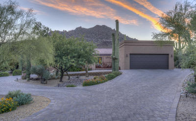 Carefree AZ Single Family Home For Sale: $839,000
