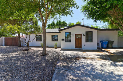 Phoenix Single Family Home For Sale: 3501 E Piccadilly Road