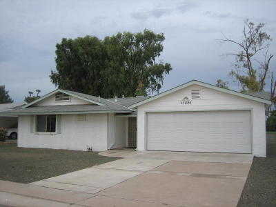 Sun City Rental For Rent: 11825 N Hacienda Drive