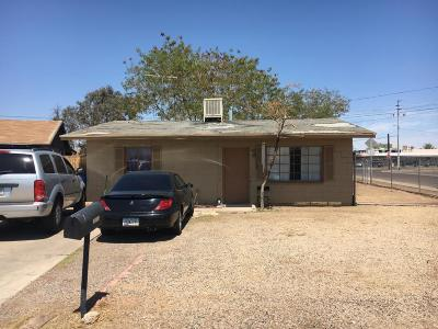 Phoenix Single Family Home For Sale: 1621 S 15th Drive