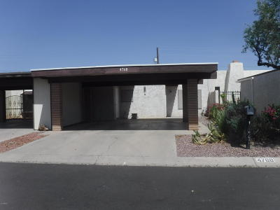Glendale Condo/Townhouse For Sale: 4768 W Via Cynthia