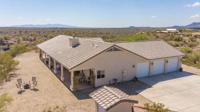 Morristown Single Family Home For Sale: 44801 Saguaro Blossom Lane