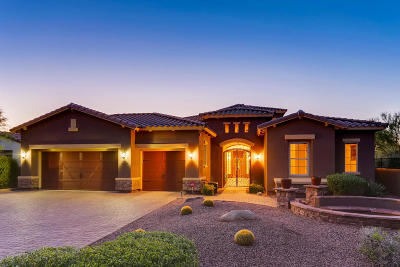 Cave Creek Single Family Home For Sale: 5256 E Barwick Drive