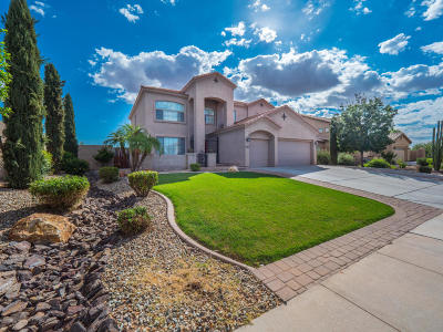 Mesa Single Family Home UCB (Under Contract-Backups): 4749 S Adelle Circle