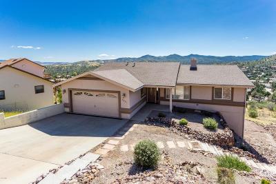 Prescott Single Family Home For Sale: 4881 Comanche Trail
