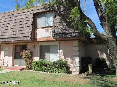 Tempe Condo/Townhouse For Sale: 1611 E Malibu Drive