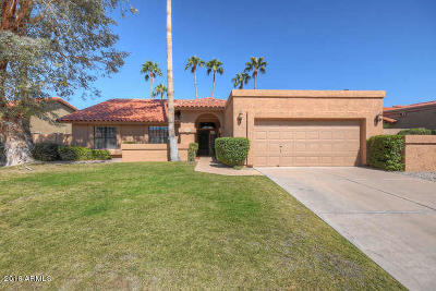 Scottsdale Single Family Home For Sale: 10522 E Bella Vista Drive
