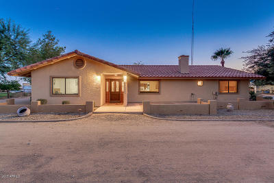Waddell Single Family Home For Sale: 17707 W Ocotillo Road