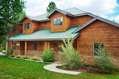 Heber Single Family Home For Sale: 2913 Buckskin Canyon Road