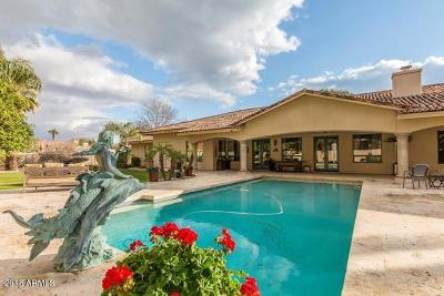 Paradise Valley Single Family Home For Sale: 6500 E Fanfol Drive