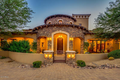 Scottsdale Single Family Home For Sale: 10001 E Balancing Rock Road