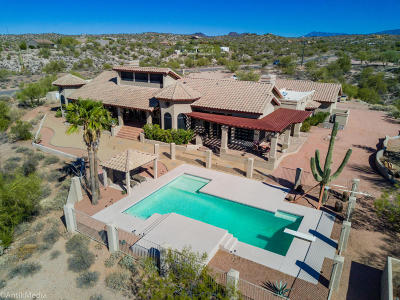 Fort Mcdowell Single Family Home For Sale: 11825 N Burntwater Road