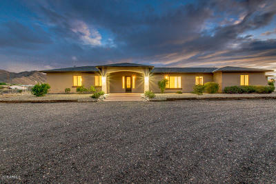 Queen Creek Single Family Home UCB (Under Contract-Backups): 19919 E Stacey Road