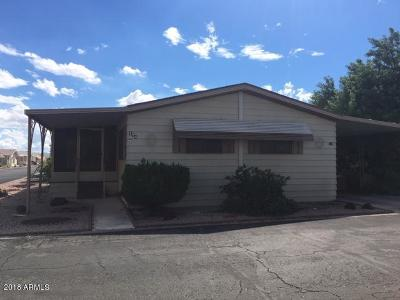Surprise Mobile/Manufactured For Sale: 11596 W Sierra Dawn Boulevard #124