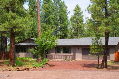 Pinetop Single Family Home For Sale: 2651 Brahma Circle