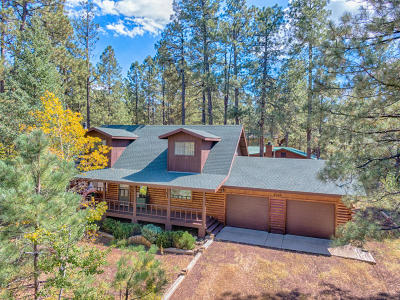 Pinetop Single Family Home For Sale: 6045 W Forty Niner Way