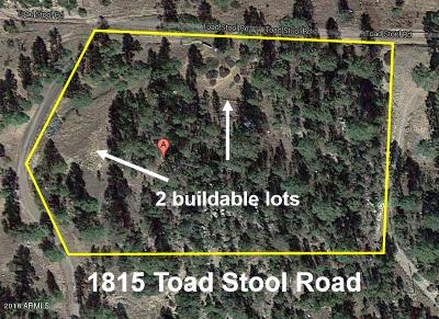 Heber Residential Lots & Land For Sale: 1815 Toad Stool Road
