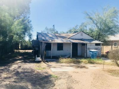 Phoenix AZ Single Family Home For Sale: $65,000