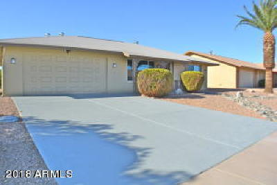 Sun City West Single Family Home UCB (Under Contract-Backups): 12450 W Marble Drive