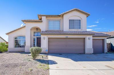 Casa Grande Single Family Home For Sale: 1285 E Manor Drive
