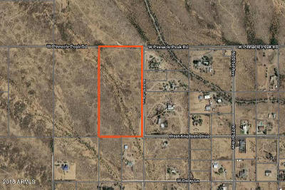 Surprise Residential Lots & Land For Sale: 22301 W Pinnacle Peak Road