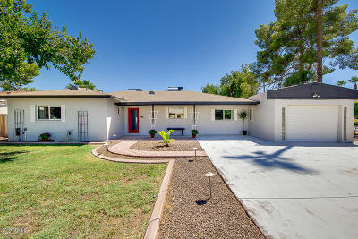 Phoenix Single Family Home For Sale: 4001 E Avalon Drive