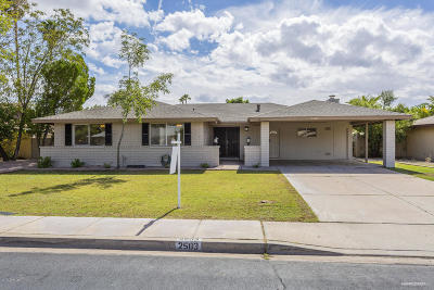 Tempe Single Family Home For Sale: 2503 E Del Rio Drive