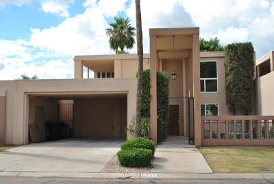 Scottsdale Condo/Townhouse For Sale: 7318 N Via De La Montana