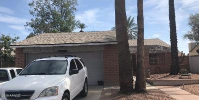 Glendale Single Family Home For Sale: 9615 N 52nd Lane
