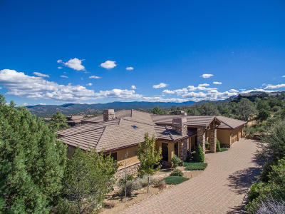 Prescott Single Family Home For Sale: 2180 Forest Mountain Road