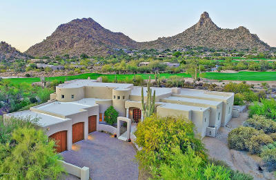 Desert Highlands, Desert Highlands Phase 1, Desert Highlands Area A Lot 40-71 Tr A Pvt St, Desert Highlands Phase 2, Desert Highlands Phase 3 Single Family Home For Sale: 10040 E Happy Valley Road #600