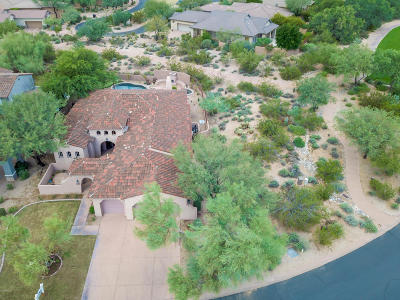 Scottsdale Single Family Home For Sale: 9184 E Mountain Spring Road