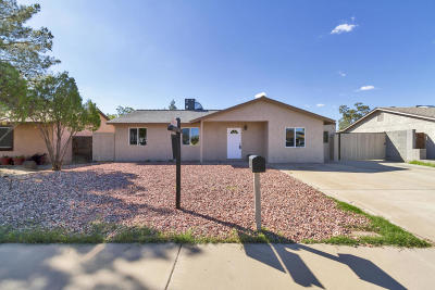 Phoenix Single Family Home For Sale: 18020 N 34th Lane